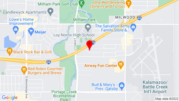 Google Map of 1515 Helen Ave, Portage, MI 49002