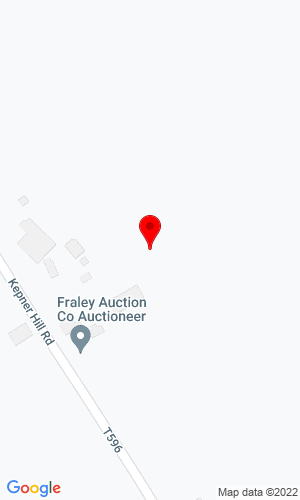 Google Map of Fraley Auction Co., Inc. 1515 Kepner Hill Road, Muncy, PA, 17756