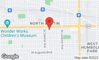 Map of 1515 North Linder Avenue CHICAGO, IL 60651
