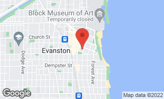 Map of 1516 Hinman Avenue #404 EVANSTON, IL 60201
