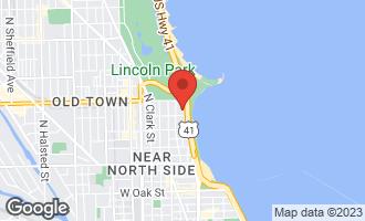 Map of 1516 North Lake Shore Drive CHICAGO, IL 60610