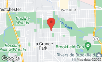 Map of 1518 Harrison Avenue LA GRANGE PARK, IL 60526