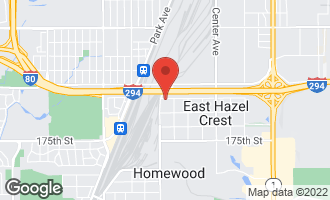 Map of 1519 West 172nd Street East Hazel Crest, IL 60429