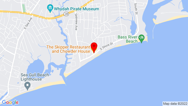 Google Map of 152 S Shore Dr, South Yarmouth, MA 02664