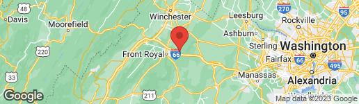 Map of 152 BEYOND TOMORROW WAY LINDEN, VA 22642
