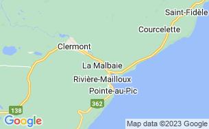 Map of Camping Au Bord De La Rivière