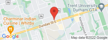 Google Map of 1520+Dundas+St+East%2CWhitby%2COntario+L1N+2K7