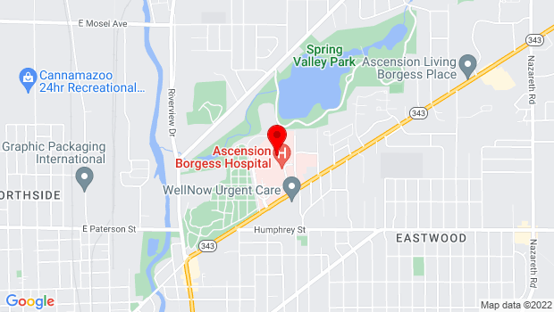 Google Map of 1521 Gull Road, Kalamazoo, MI 49048