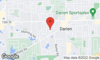Map of 1522 Hawthorne Place DARIEN, IL 60561