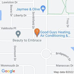 Google Map of 15251 Smithfield Dr. Westfield, IN 46074 U.S.A.