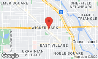 Map of 1526 North Elk Grove Avenue CHICAGO, IL 60622