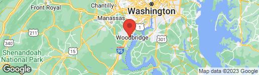 Map of 15277 FOREST GROVE DRIVE WOODBRIDGE, VA 22191
