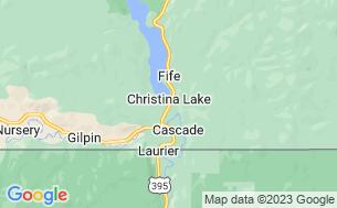 Map of Christina Pines Campground