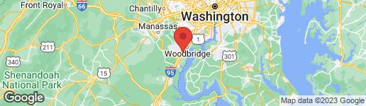 Map of 15296 REGENTS PARK DRIVE #35 WOODBRIDGE, VA 22191