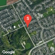 Satellite Map of 153 Sunpoint Crescent, Waterloo, Ontario