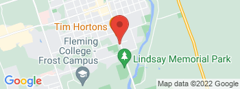 Google Map of 153+Lindsay+Street+South%2CLindsay%2COntario+K9V+4S5