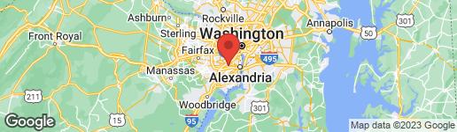 Map of 153 BARRETT PLACE ALEXANDRIA, VA 22304