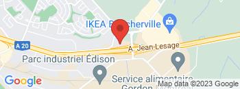 Google Map of 1530+Ampere%2CBoucherville%2CQuebec+J4B+7L4