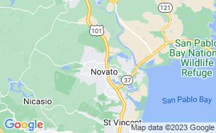 Map of Novato RV Park