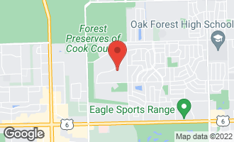 Map of 15308 Cherry Lane OAK FOREST, IL 60452