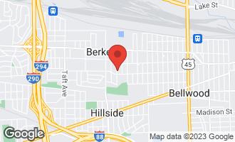 Map of 1531 Morris Avenue BERKELEY, IL 60163