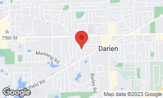 Map of 1533 77th Street DARIEN, IL 60561