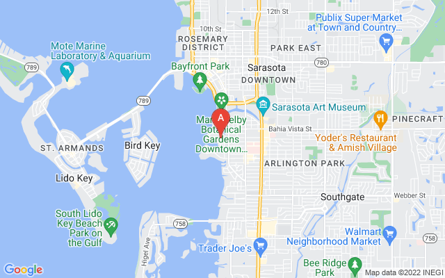 1534 Harbor Pl Sarasota Florida 34239 locatior map