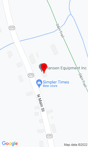 Google Map of Hansen Equipment Inc. 1534 State Route 171, Forest City, PA, 18421