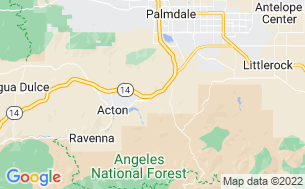 Map of Californian RV Resort