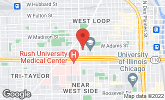 Map of 1538 West Jackson Boulevard CHICAGO, IL 60607