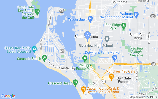 1539 Landings Blvd #76 Sarasota Florida 34231 locatior map