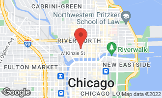 Map of 154 West Hubbard Street #503 CHICAGO, IL 60654