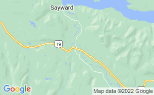 Map of Sayward Valley Resort /Fisherboy Park