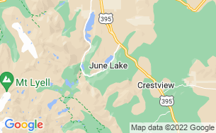 Map of June Lake RV Park and Lodge
