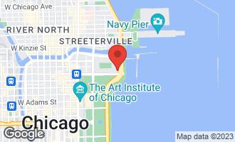 Map of 155 North Harbor Drive #904 CHICAGO, IL 60601