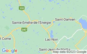Map of Camping Sainte-Émélie