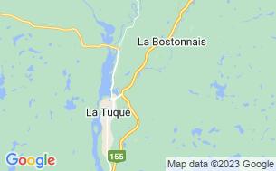 Map of Camping Haut De La Chute