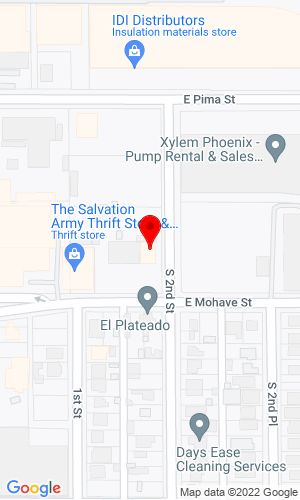Google Map of Superior Equipment Water Trucks 156 E. Mohave Street , Phoeniz, AZ, 85004