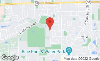 Map of 1564 Wadsworth Road WHEATON, IL 60189