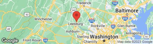 Map of 15726 TRONGATE COURT LEESBURG, VA 20176