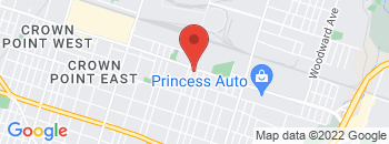 Google Map of 1574+Barton+Street+East%2CHamilton%2COntario+L8H+2W1