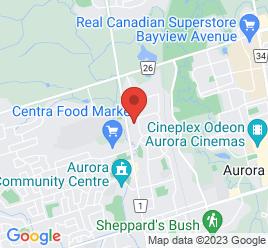 Google Map of 15783+Yonge+Street%2CAurora%2COntario+L4G+1P4