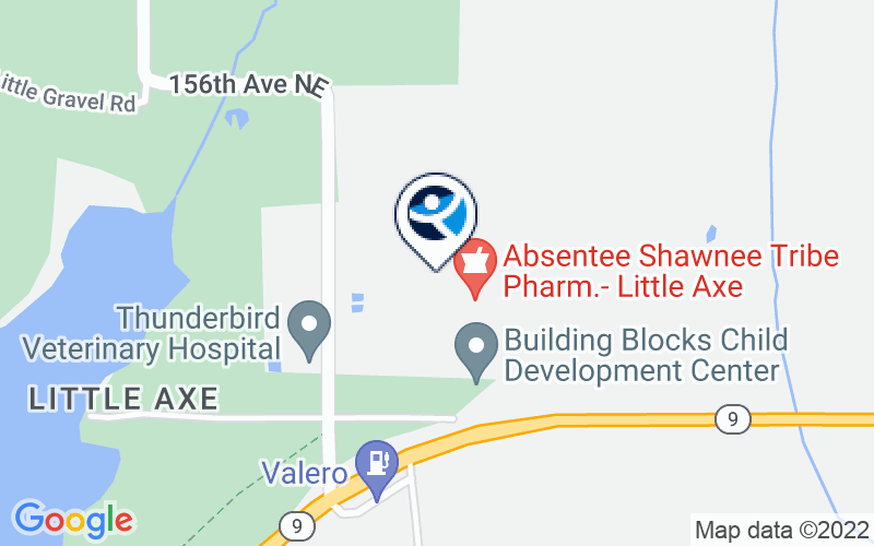 Absentee Shawnee Behavioral Health - Norman Location and Directions