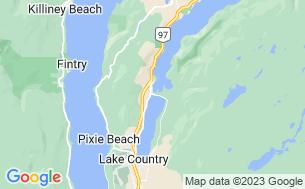 Map of Tween Lakes Resort