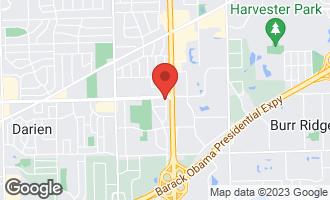Map of 15W122 75th Street BURR RIDGE, IL 60527