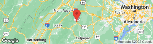 Map of 16 GRINTON LANE FLINT HILL, VA 22627