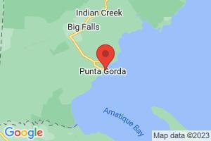 Map of Punta Gorda