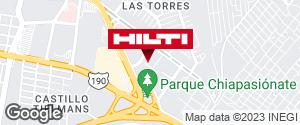 Obtener indicaciones para Ocurre Paqex Tuxtla Gutierréz (Las Torres)