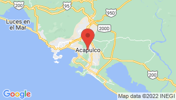 Map of Acapulco