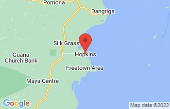Map of Hopkins